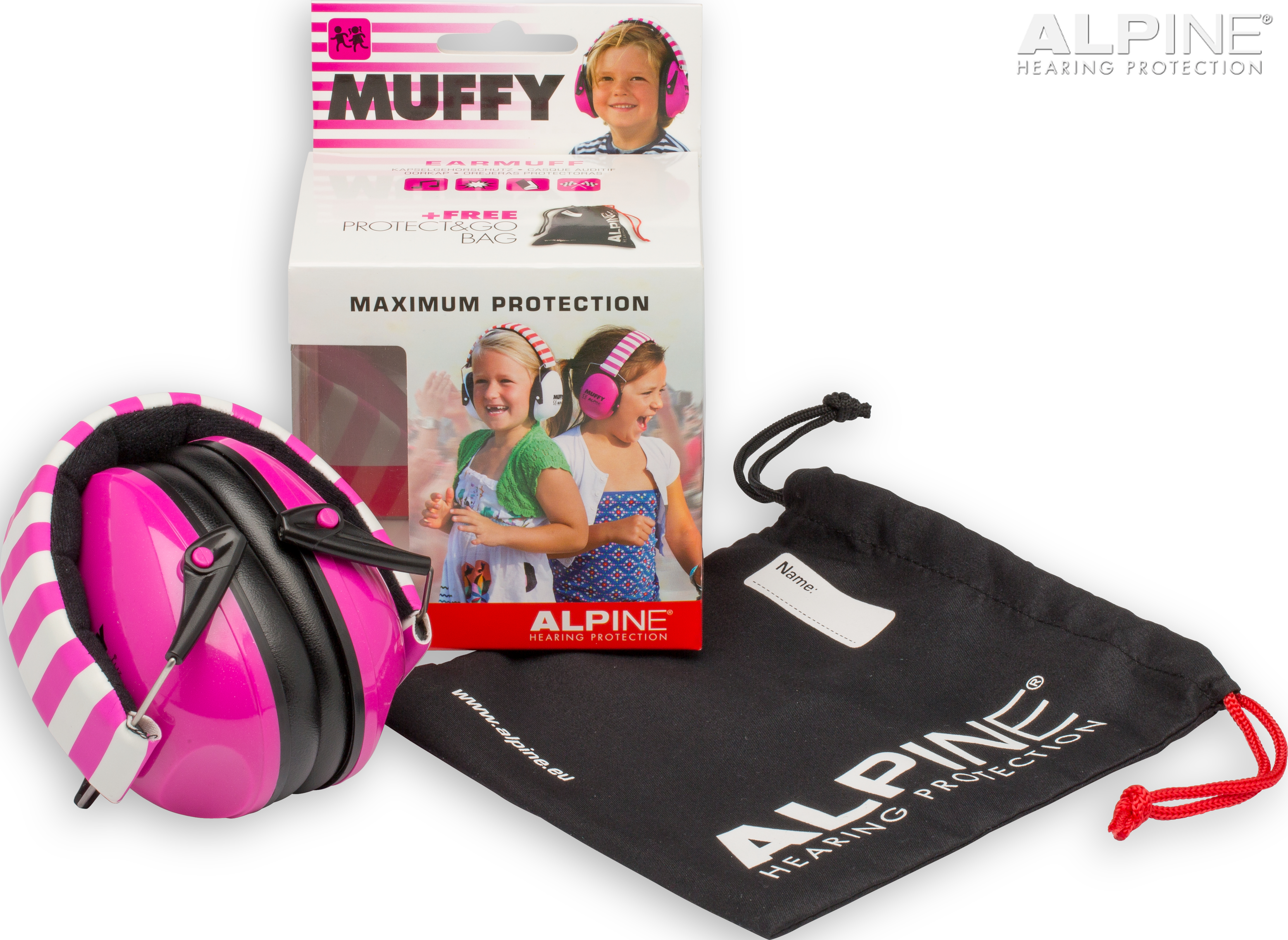 Alpine Muffy pink packshot