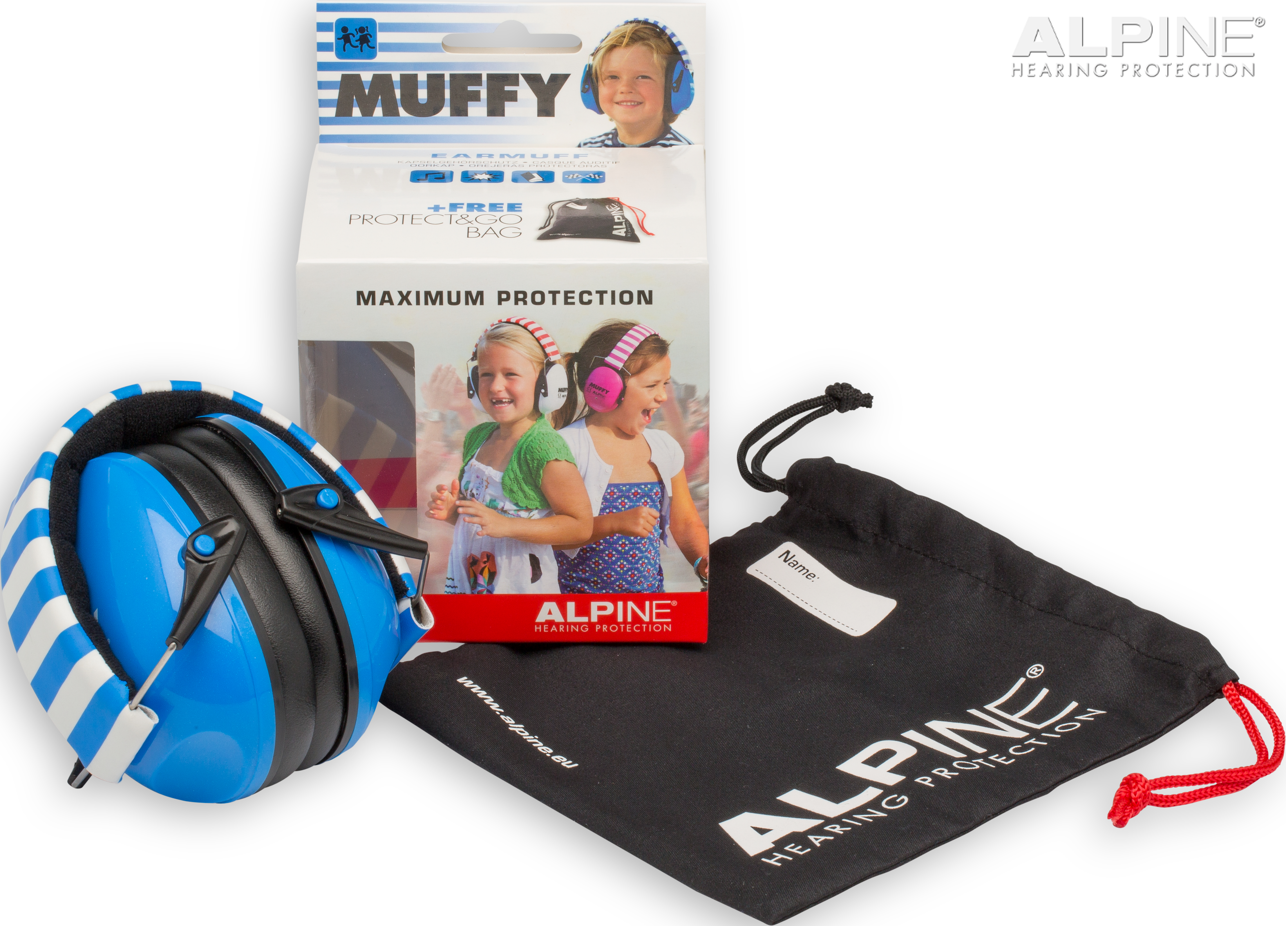 Alpine Muffy blue packshot
