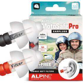 Earplugs for motorcyclists